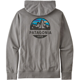 Patagonia Fitz Roy Scope Lightweight Capuchon Jas met Doorlopende Rits Heren, feather grey